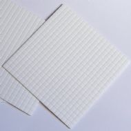 5 X 5mm x 5mm x 3mm Sticky 3D Foam Pads, Double Sided Adhesive - UKCC0017